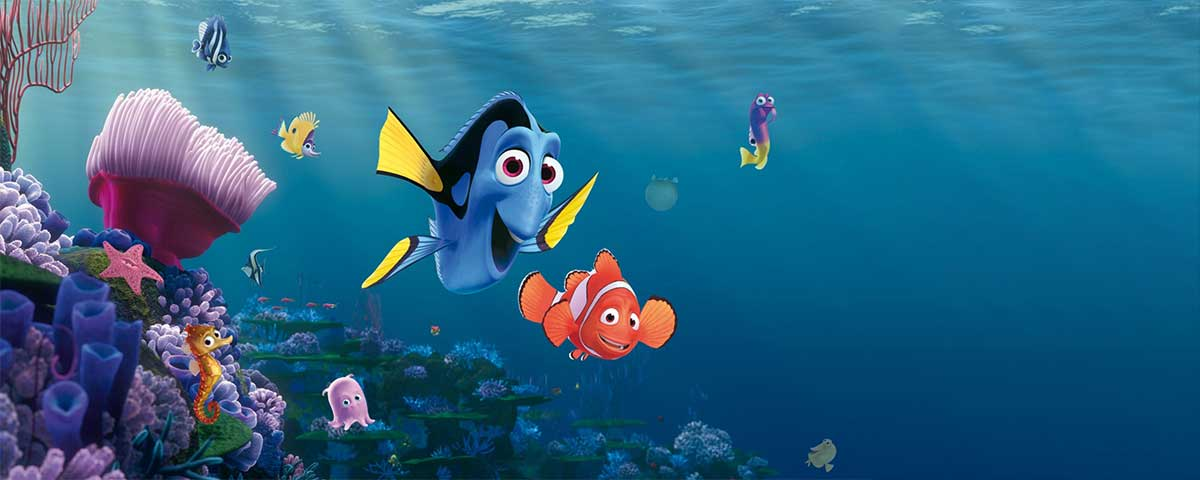 Movie quotes from Findet Nemo