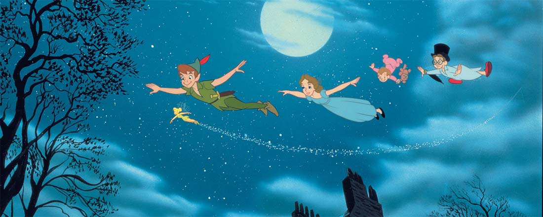 Movie quotes from Peter Pan
